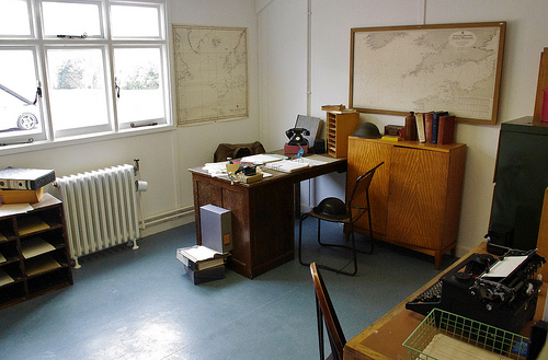 Alan Turing's office | David Fisher | Creative Commons